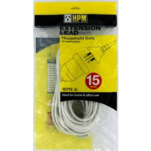 HPM Household Extension Lead 15 Metres