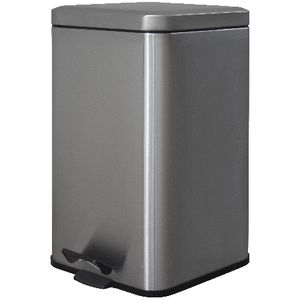 J.Burrows Stainless Steel Pedal Bin 20L