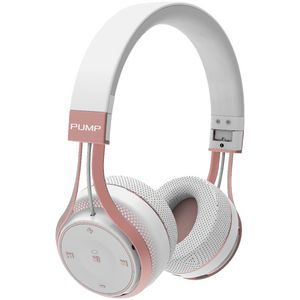 BlueAnt Pump Soul Wireless Headphones White Rose Gold