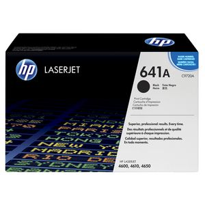 HP 641A LaserJet Toner Cartridge Black C9720A