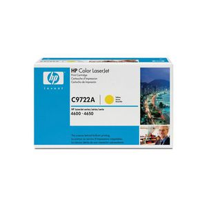 HP 641A LaserJet Toner Cartridge Yellow C9722A
