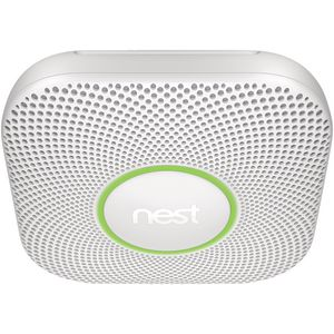 Nest Protect Battery Powered Smoke Alarm White