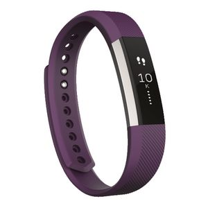 Fitbit Alta Activity Tracker Small Plum at Officeworks in Campbellfield, VIC | Tuggl
