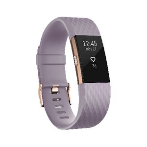 Fitbit Charge 2 Activity Tracker Special Edition Lavender S