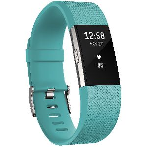 Fitbit Charge 2 Activity Tracker Teal Large
