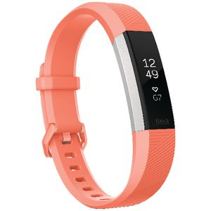 Fitbit Alta HR Activity Tracker Small Coral