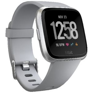 Fitbit Versa Smart Fitness Watch Grey Aluminium