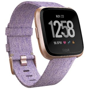 Fitbit Versa Smart Fitness Watch Special Edition Lavender