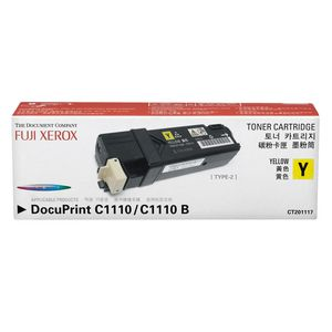 Fuji Xerox Toner Cartridge Yellow CT201117