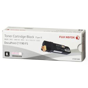 Fuji Xerox Toner Cartridge Black CT201260K