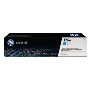 HP 126A LaserJet Toner Cartridge Cyan CE311A