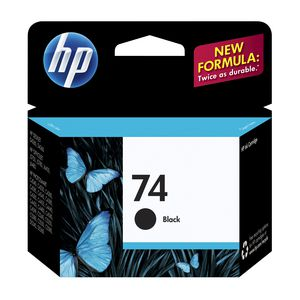 HP 74 Ink Cartridge Black