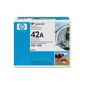 HP 42A LaserJet Toner Cartridge Black Q5042A