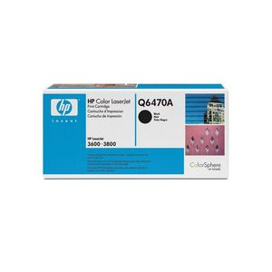 HP 510A LaserJet Toner Cartridge Black Q6470A