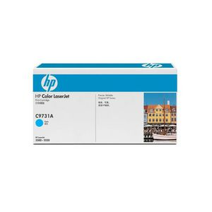 HP 645A LaserJet Toner Cartridge Cyan C9731A