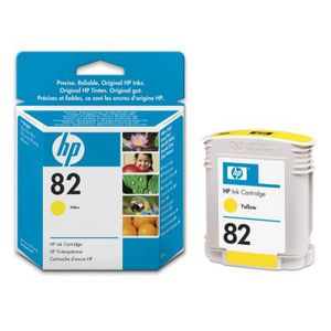 HP 82 Ink Cartridge Yellow