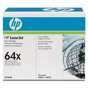 HP 64X LaserJet Toner Cartridge Black CC364X