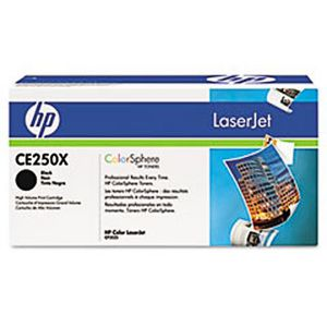 HP 504X High Yield LaserJet Toner Cartridge Black CE250X