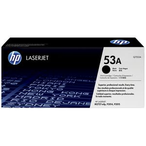 HP 53A LaserJet Toner Cartridge Black Q7553A