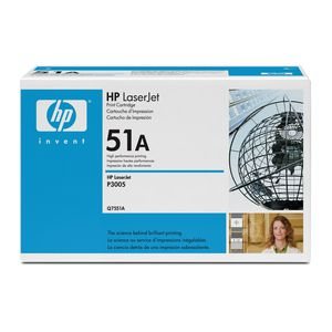HP 51A LaserJet Toner Cartridge Black Q7551A