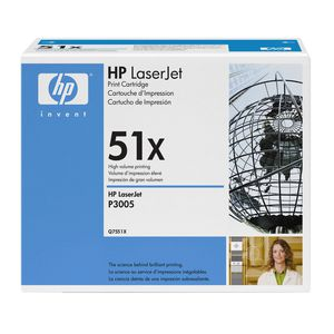 HP 51X High Yield LaserJet Toner Cartridge Black Q7551X