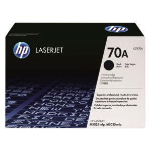 HP 70A LaserJet Toner Cartridge Black Q7570A