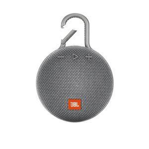 JBL Clip 3 Portable Bluetooth Speaker Grey | Tuggl