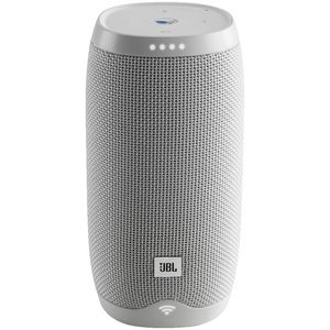 JBL Link 10 Portable Bluetooth Speaker Google Assistant White