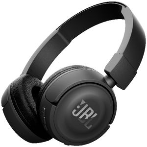 JBL Wireless On Ear Headphones Black T450BT