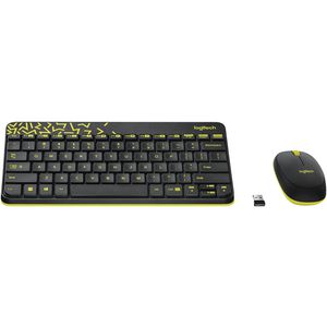 Logitech Wireless Keyboard and Mouse Black MK240 at Officeworks in Campbellfield, VIC | Tuggl