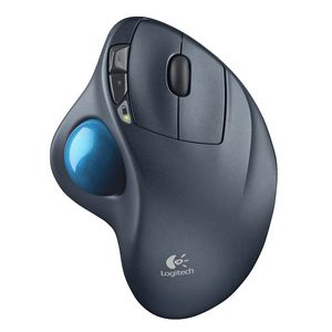 Logitech Wireless Trackball Mouse Black M570