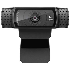 Logitech HD Pro Webcam Black C920
