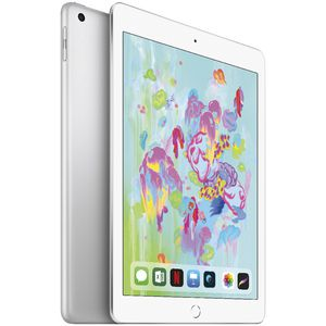 "iPad 6th Gen 9.7"" Cellular 128GB Silver"