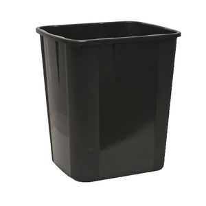 Italplast 32L Recycled Tidy Bin Black