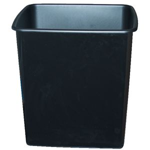 Italplast Fire Retardant Waste Bin 15L Black