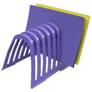 Italplast Step File Organiser Grape