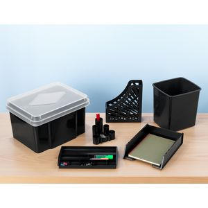 Italplast Green-R A4 Document Tray Black