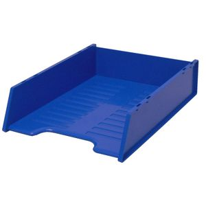 Italplast A4 Document Tray Blueberry