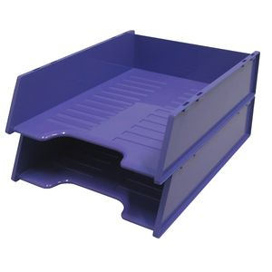 Italplast A4 Document Tray Grape