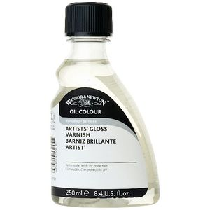 Winsor & Newton Gloss Varnish 250mL