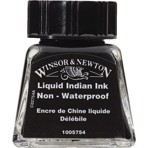 Winsor & Newton Indian Ink 14mL Black