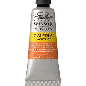 Winsor & Newton Galeria Acrylic Cadmium Orange Hue 60mL