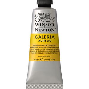 Winsor & Newton Galeria Acrylic Cadmium Yellow Deep Hue 60mL