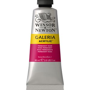 Winsor & Newton Galeria Acrylic Permanent Rose 60mL