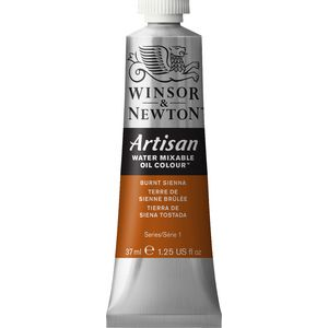 Winsor & Newton Oil Colour 37mL Burnt Sienna S1