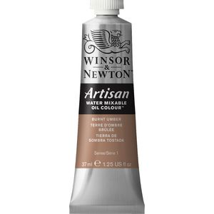 Winsor & Newton Oil Colour 37mL Burnt Umber S1