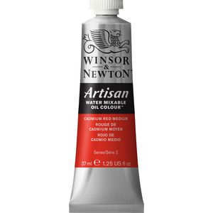 Winsor & Newton Oil Colour 37mL Cadmium Red Medium S2