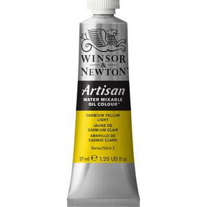 Winsor & Newton Oil Colour 37mL Cadmium Yellow Light S2