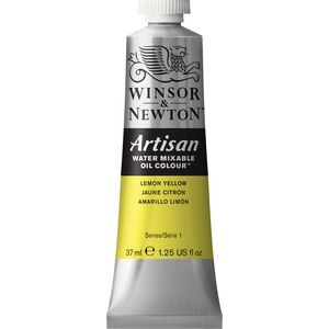 Winsor & Newton Oil Colour 37mL Lemon Yellow S1