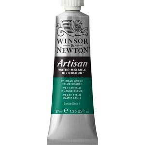 Winsor & Newton Oil Colour 37mL Phthalo Green (Blue) S1